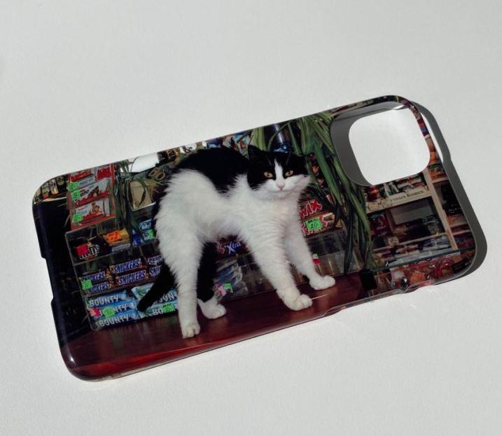 basic320 베이직320 고양이케이스 고양이휴대폰케이스 유니크