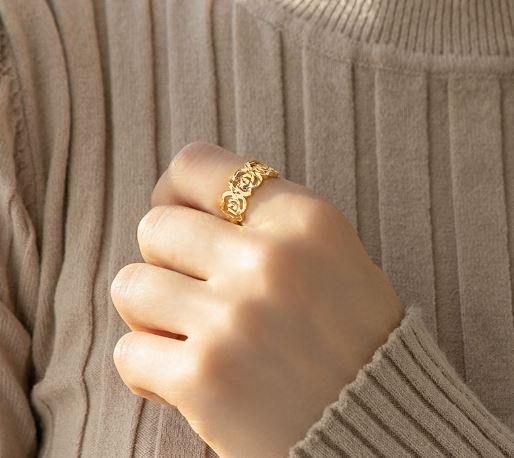 반지 고르는법 어두운 피부 반지 옐로우 골드 반지