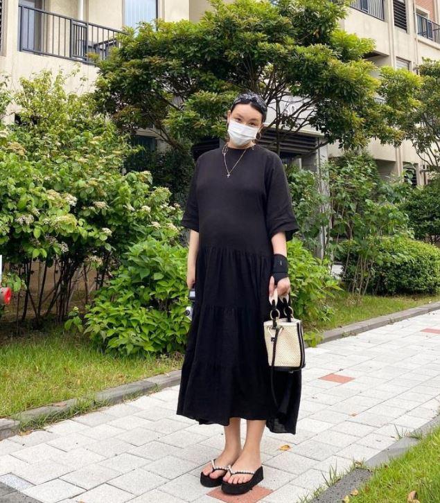 임산부 패션- 안무가 배윤정