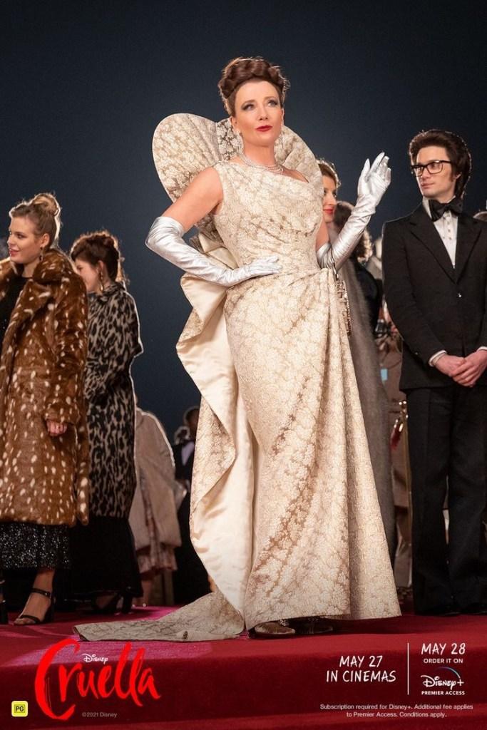 영화 크루엘라 패션 남작부인의 드레스