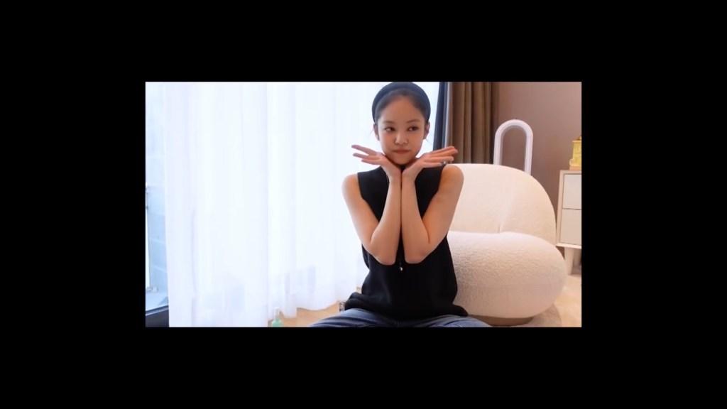 제니 유투브 통해 공개한 최애 아이템 헤어밴드