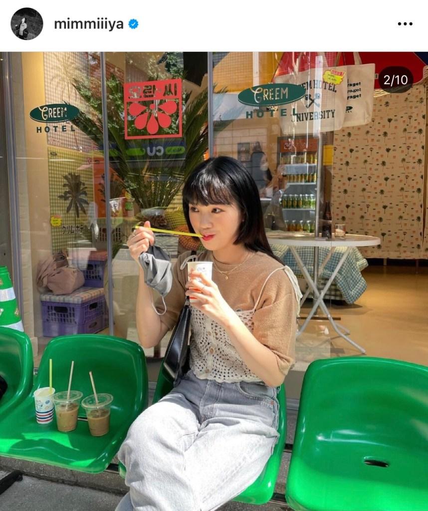 오마이걸 미미의 크로쉐 스타일링