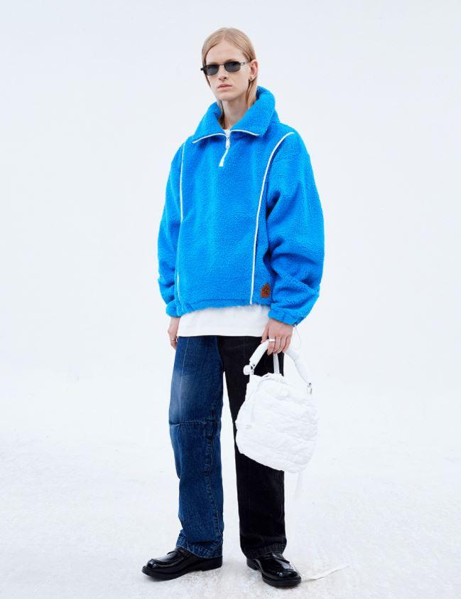 아더 아더에러 플리스 후리스 양털 자켓 재킷 스웻셔츠
