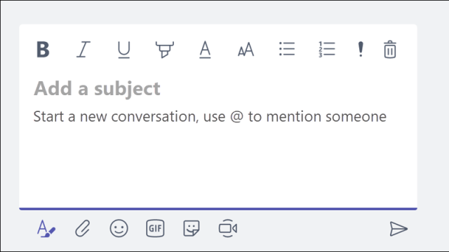 Adding title to your Chat/message