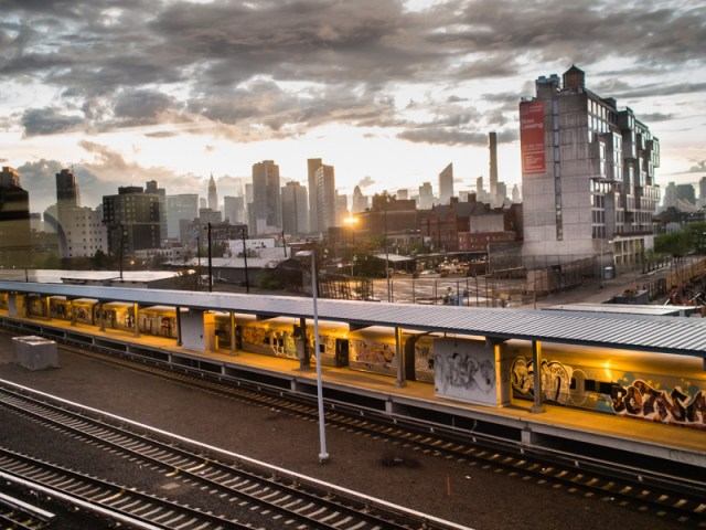 Queens, NY - View from Westbound 7 Train.