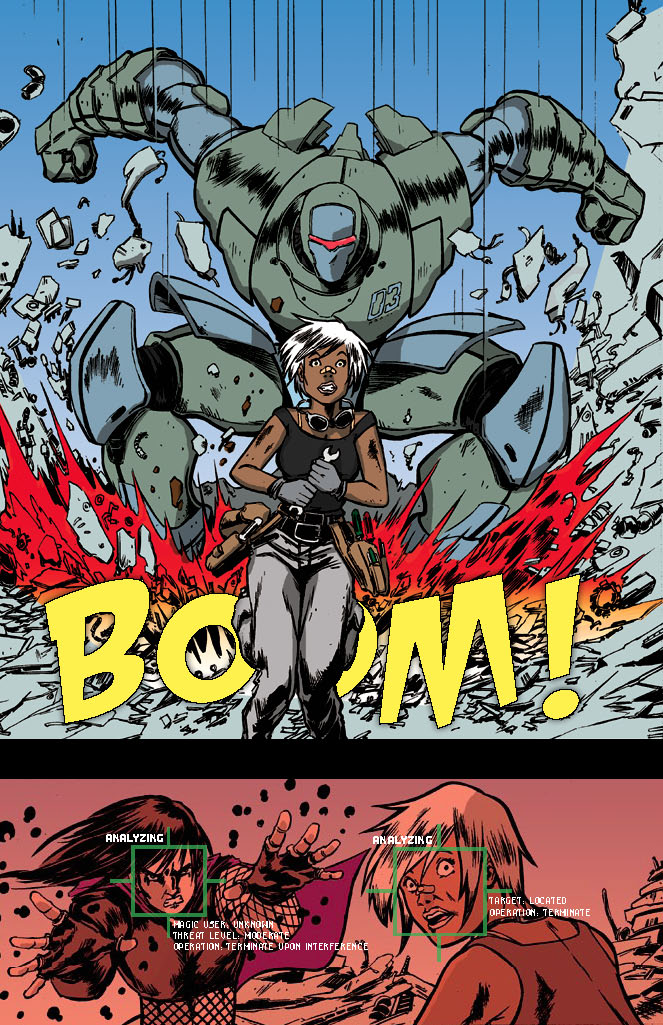 Ruin – Story by D.M. Charles | Illustrated by Discoro Benga Jr. – Colored & Lettered By Osjua A. Newton