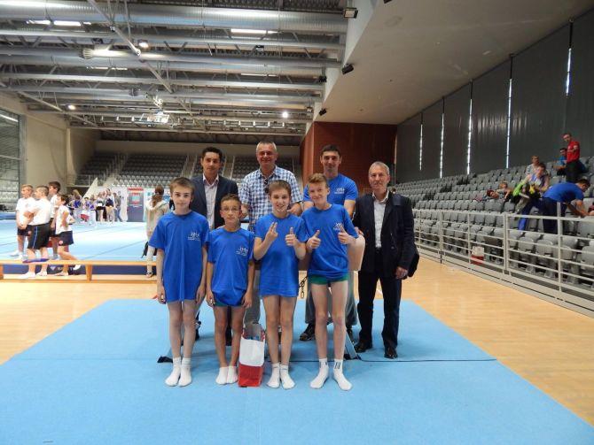 Gimnastičari brončani na državnom prvenstvu školskih sportskih društava u Osijeku