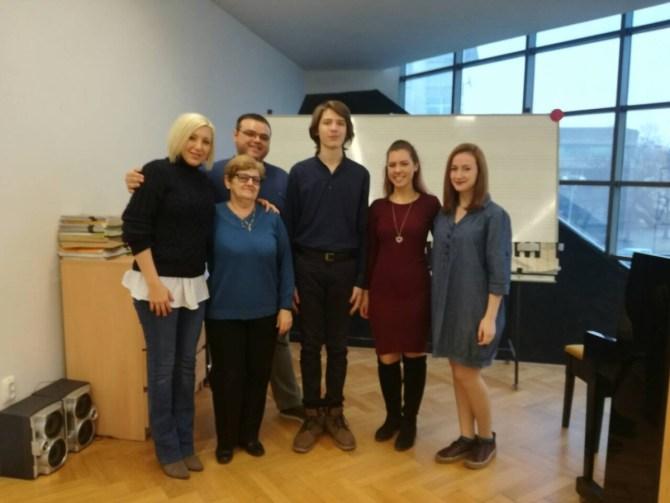 Gostovanje učenika gudačkog odjela srednje glazbene škole' Franje Kuhača' iz Osijeka
