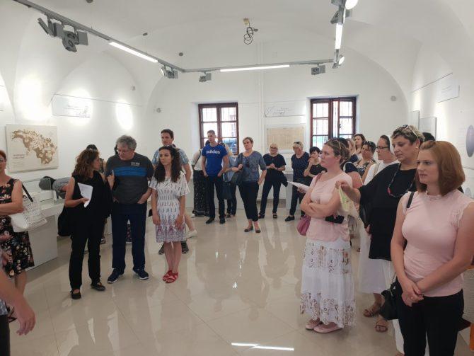 Učitelji na izložbama Valpovački vlastelini Prandau-Norman