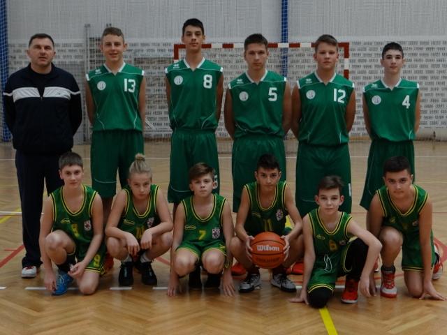 Županijsko natjecanje iz košarke za mladiće 7. i 8. razreda