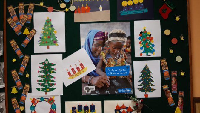 Zahvala za sudjelovanje u projektu Škole za Afriku i Aziju
