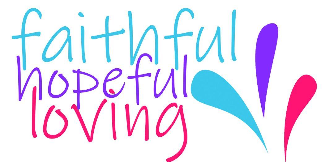 Faithful, Hopeful, Loving logo