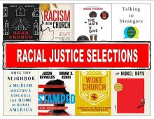 Racial Justice library display