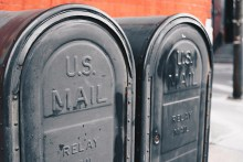 Photo of mailboxes