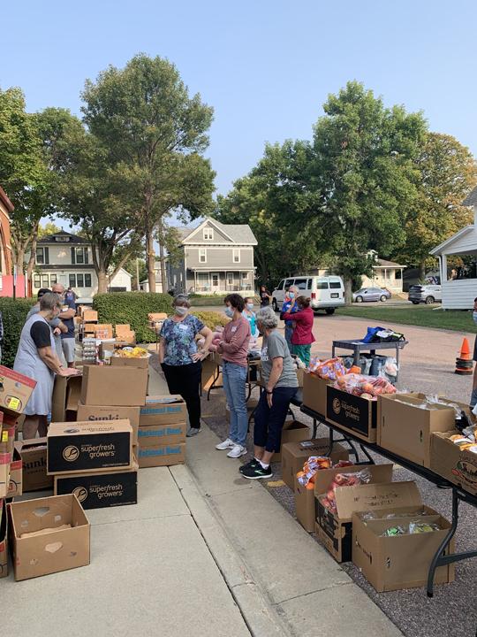 Food to You Distribution, Sept. 17, 2020