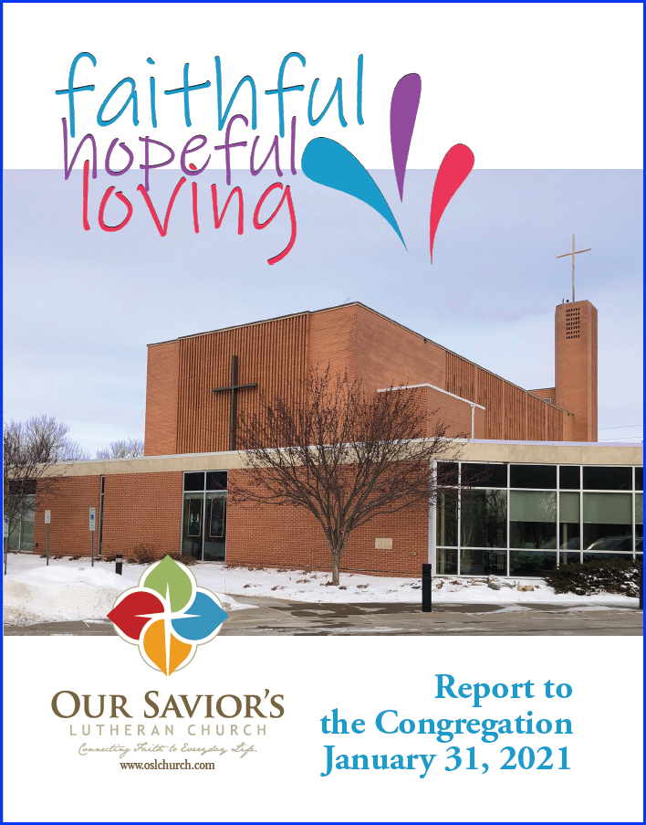 Report Cover for January 31, 2021, meeting