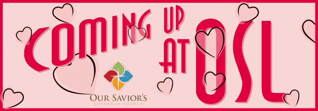 Coming Up Valentine's logo