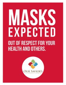 Masks Expected  sign