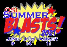 Summer Blasts 2021 Logo