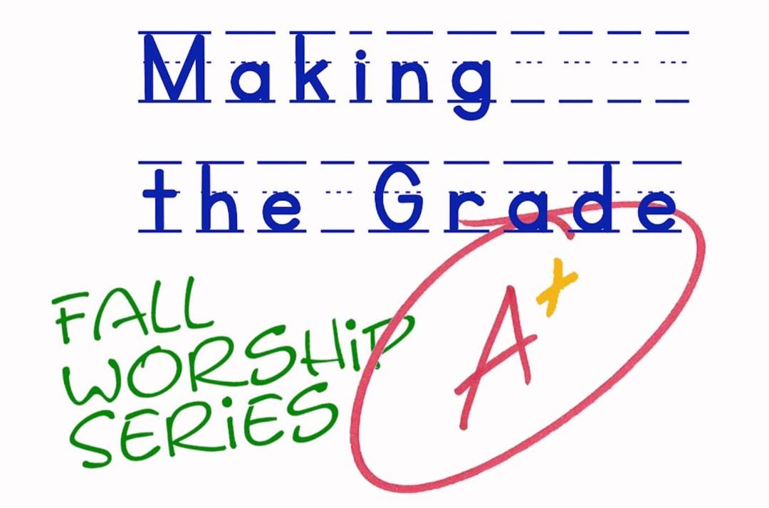 Making the Grade slide
