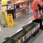 OSL's graduate works on rolling stock