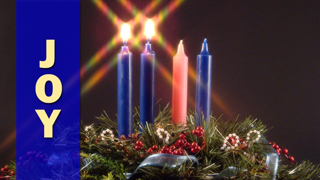 2nd Sunday of Advent at Our Savior's Lutheran Church at 9:30am