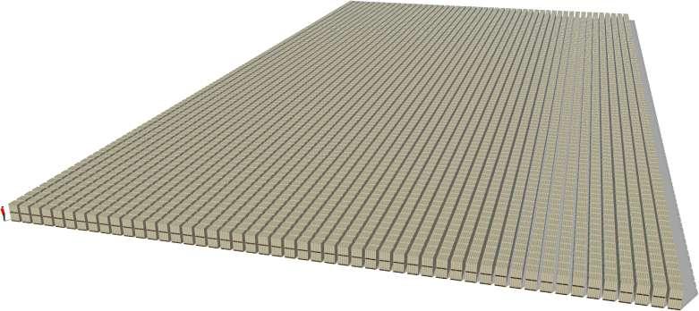 A konečně bilión dolarů. Povšimněte si prosím, že palety jsou dvě na sobě. A je to ve stodolarovkách, tedy zhruba dvoutisícikorunových bankovkách.