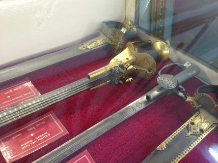Sword with pistol...