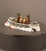 Småskala-klassen, 1. plass: Thomas Dystopian Wars-skip