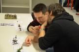 Aleksander og Erik i dyp konsentrasjon...