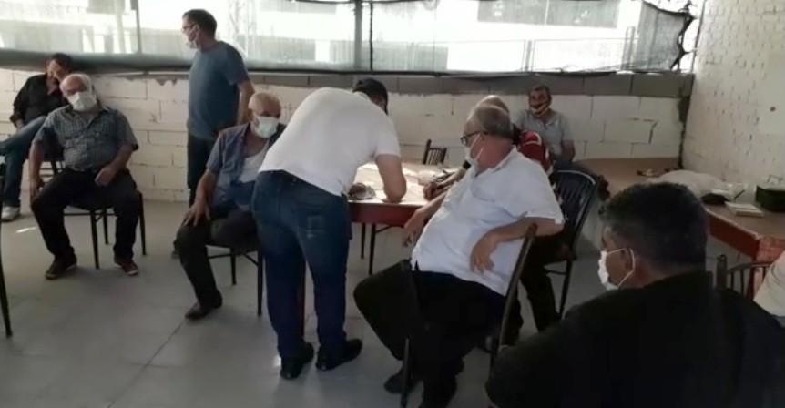 Sosyal mesafeyi ihlal eden 37 kişiye 116 bin lira ceza