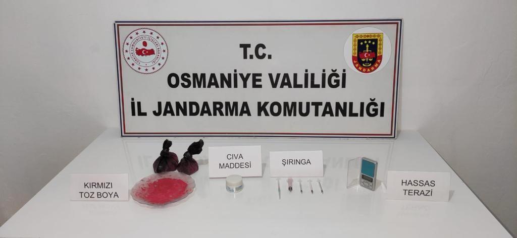 Osmaniye'de 579 gram cıva ele geçirildi