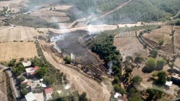 Osmaniye'de anız yangını ormanlık alana sıçradı