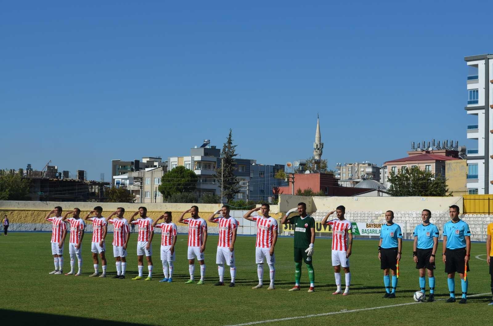 TFF 2. Lig: Kahramanmaraş: 0 – AN Zentrum Bayburt Özel İdare: 1