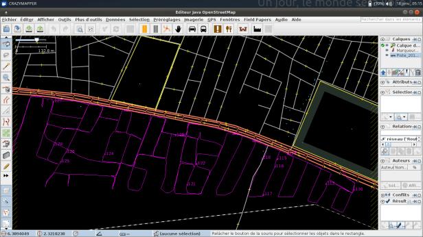 Visualisation des traces GPS
