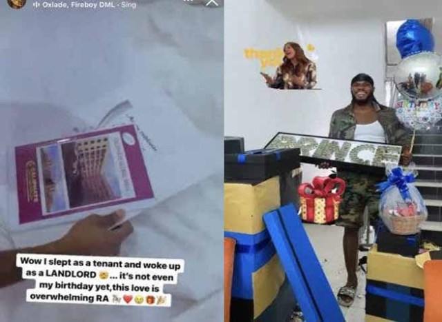 BBNaija Prince receives money and piece of land ahead of his birthday
