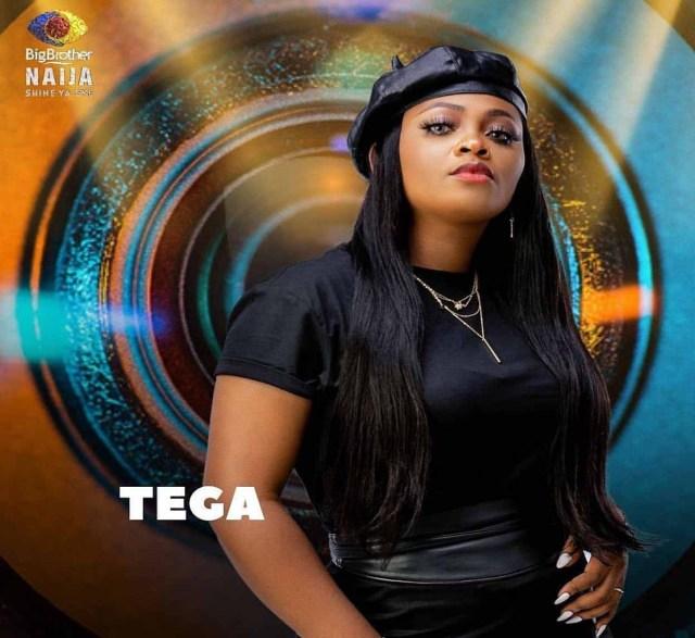 BBNaija 2021: My wife will do more – Tega's husband reacts after she showed Saga her nipple