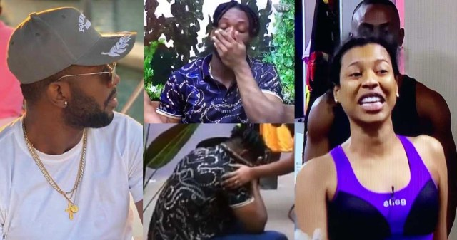 BBNaija: I should have walked away- Nini remorseful after fighting with Cross
