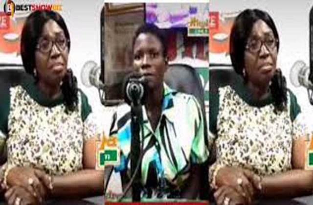Ghanaian lady claimed she was impregnated by crocodile