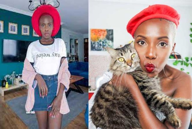I don't want to give birth, be a mother or even step-mother. I just want to be a mother of Cat - Muthoni Gitau