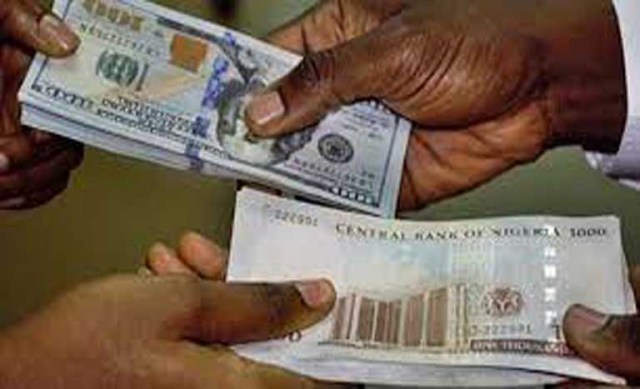 Naira's free fall Continues, Now Exchange rate at #550 to $1