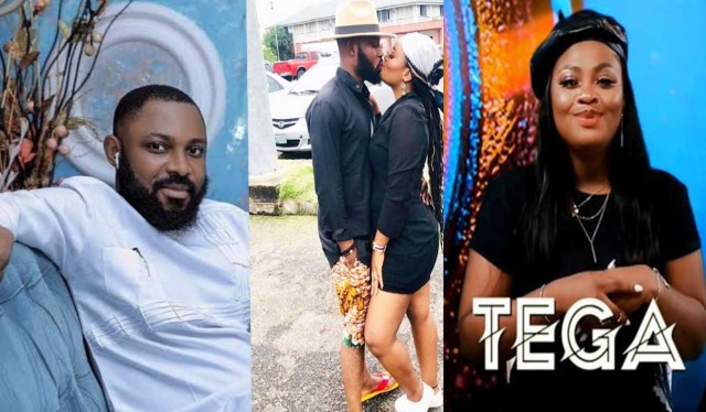 I will take back my wife if she admits her wrongs and apologize. Evicted BBNaija housemate Tega's husband Ajeboh Krislawrence reveals
