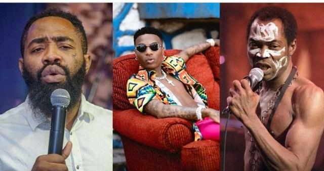 Dan't Compare Wizkid to Fela Comdian Woli Arole Warns Trolls