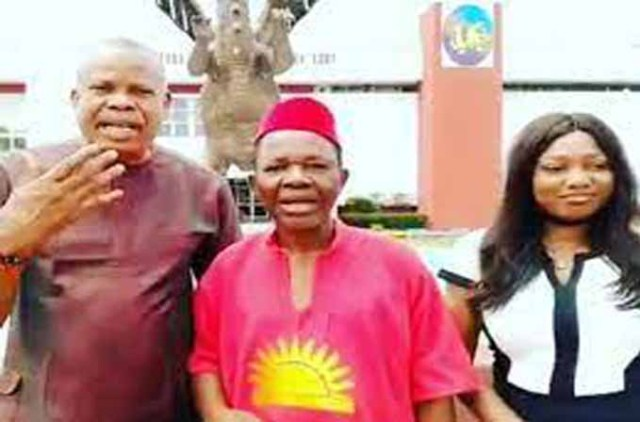 Video of actor Chiwetalu Agu after his release