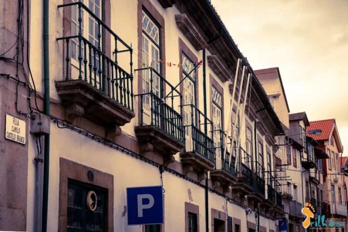Casa dos Brocas, mandada construir pelo avô de Camilo Castelo Branco