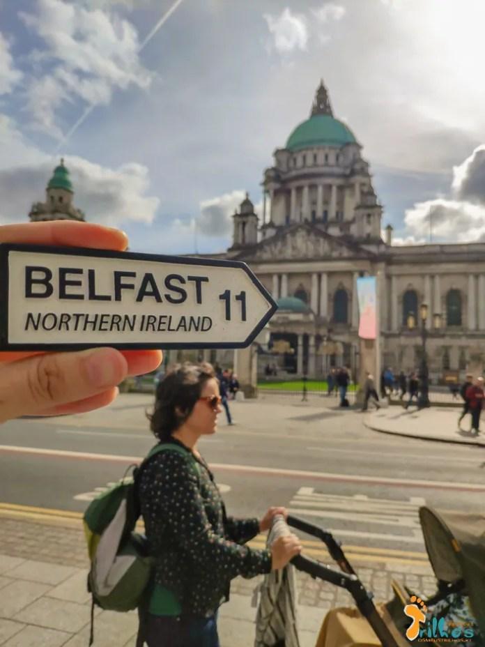 The Belfast City Hall, em Belfast, na Irlanda do Norte
