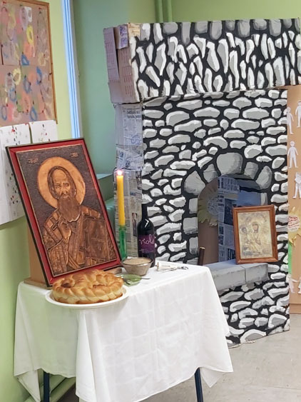 Slava Svetog Save u Ljutovu 2020. godine