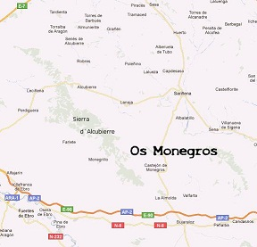 Diccionario de voces toponímicas de los Monegros