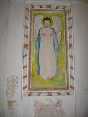 Unas pinturas controvertidas en el Cartujo de Los Monegros