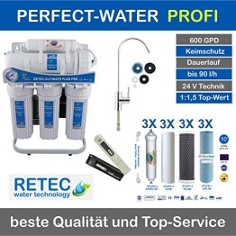 Osmoseanlage 600 GPD Ultimate PLUS PRO PROFI EDITION 2018 direct flow kein Tank nötig Umkehrosmosewasserfilter Wasserfilter Trinkwasser Umkehrosmose Reverse Osmosis - 1
